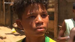 Garoto carente assistido por projeto social do Vitória ganha ajuda de morador dos EUA