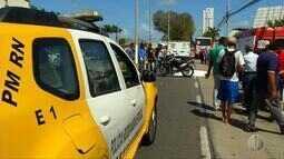 Motociclista morre em acidente em Natal
