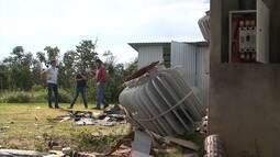 Produtores estão preocupados com a ação de bandidos que roubam fios no oeste da Bahia