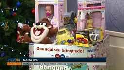 Campanha Natal RPC quer arrecadar 10 mil brinquedos, em Ponta Grossa