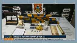 Seis são presas por tráfico de drogas em Ponta Grossa