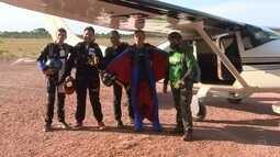 Wingsuit é a nova prática de paraquedismo no Amapá