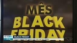 Procon orienta consumidores sobre a Black Friday, no ES