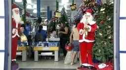 Comércio de Valadares já se prepara para o Natal