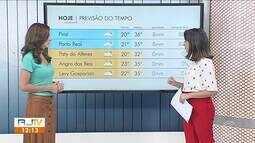 Meteorologia prevê calor para véspera de feriado no Sul do Rio de Janeiro