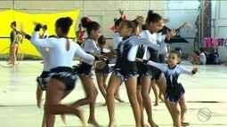 Aracaju recebeu um festival de ginástica rítmica e artística