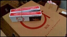 Mais de 400 mil maços de cigarros são apreendidos na BR-262, em Araxá