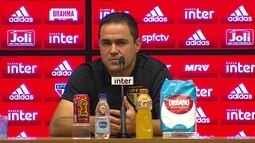 Veja a entrevista de André Jardine após o empate do São Paulo com o Grêmio