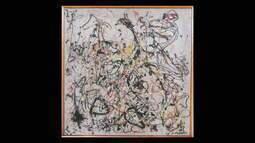Quadro de Pollock não atinge lance mínimo em leilão em Nova York