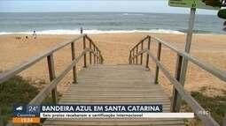 SC tem 6 das 9 bandeiras azuis de certificação ambiental no Brasil