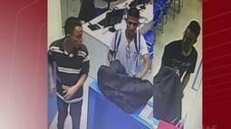Criminosos fingem ser clientes para render funcionários e assaltar loja em Peruíbe