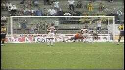 Os gols de Criciúma 1 x 2 Desportiva Ferroviária, pela Série B do Brasileiro 1998
