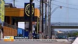 Com obras no túnel da Avenida das Alagoas, trânsito vai ser desviado