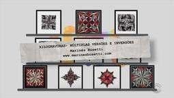 Veja as obras da exposição 'Xilogravuras - Múltiplas Versões e Inversões'
