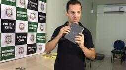 Delegado Luiz Henrique Dourado explica como droga sintética era enviada pelos Correios