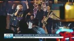 Wesley Safadão faz show em Boa Vista