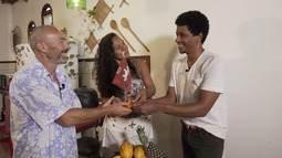 'Vumbora' leva Aldri até Coutos para conhecer um projeto que muda a vida da comunidade