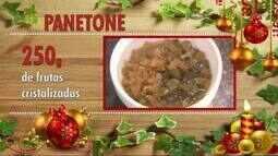 Aprenda a receita do panetone tradicional