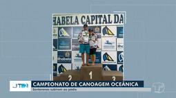 Canoístas de Santarém vencem campeonato brasileiro em Ilha Bela, São Paulo