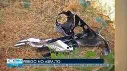 Jovens morrem após acidentes em rodovias estaduais de Crato e Juazeiro do Norte
