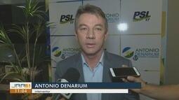 Antônio Denarium é convidado para ser interventor federal, em Roraima