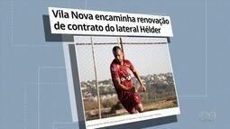 Vila Nova encaminha renovação de contrato com lateral Hélder