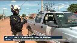 PRF realiza blitz em municípios para evitar irregularidades no trânsito