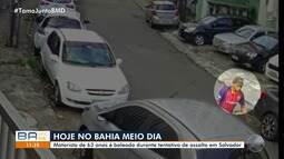 Idoso é baleado em tentativa de assalto no bairro de Brotas, em Salvador