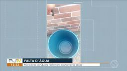 Moradores de Quatis reclamam da falta d'água há quatro dias