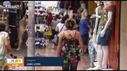 Centro comercial de Belém aquece com a proximidade do Natal