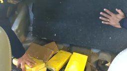 Polícia Rodoviária acha cocaína escondida em veículo em Caucaia