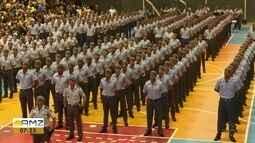 Quase 300 novos soldados passam por formatura e são incluídos no quadro da PM do Amapá