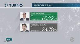 Veja como foi votação para presidente em Mato Grosso do Sul
