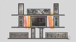 Arte: veja obras da exposição '30 anos de paixão: xilogravuras de Cláudia Sperb'