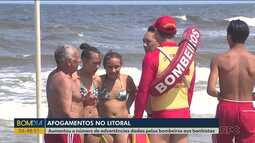 Aumenta o número de afogamentos no litoral do Paraná