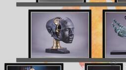 Confira obras da exposição 'Homo Machina', do artista Paulo Favalli