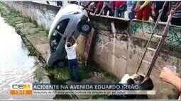 Acidente com idoso no canal da Eduardo Girão
