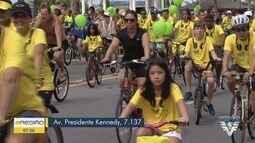 Kits do Passeio Ciclístico de Praia Grande podem ser tirados a partir de quinta-feira (17)