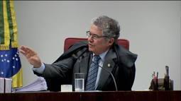 """Marco Aurélio diz que tem remetido """"ao lixo"""" reclamações como as de Flávio Bolsonaro"""