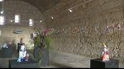 Casa da Pólvora, em João Pessoa, tem exposição aberta ao público até o dia 31/01