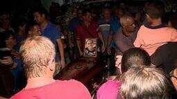 Sepultado em Barbacena corpo de trabalhador da Vale morto em Brumadinho