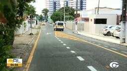 Rua Alcebíades Valente, no Farol, volta a ser mão dupla a partir desta sexta-feira