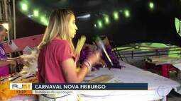 Confira os bastidores do carnaval em Nova Friburgo, no RJ