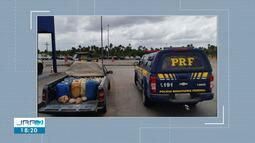 Homem é preso com 570 litros de gasolina contrabandeada no Norte de Roraima