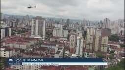 Dois homens são presos após tentativa de furto em Santos