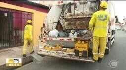 Garis são acidentados com armazenamento errado de lixo