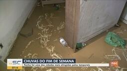 Penha está em alerta após estragos causados pela chuva