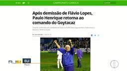 Paulo Henrique assume comando do Goyta