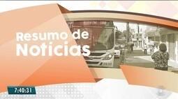 Confira o Resumo das Notícias do Bom Dia Paraíba desta terça-feira, 19