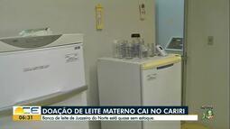 Hospital pede doação de leite no Cariri